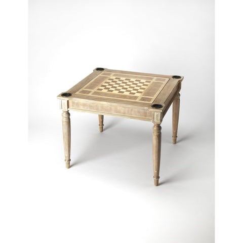 Butler Masterpiece Vincent Multi-Game Card Table In Driftwood