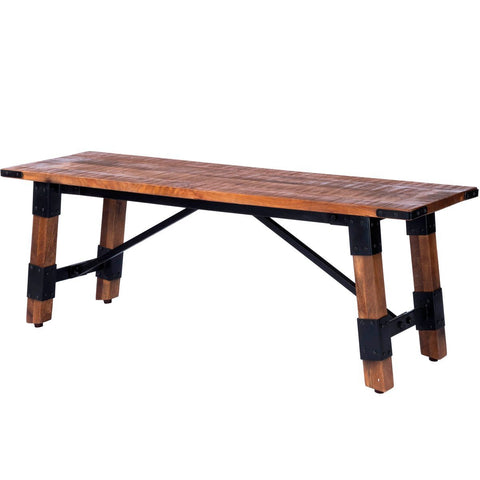 Butler Masterson Wood & Metal Bench