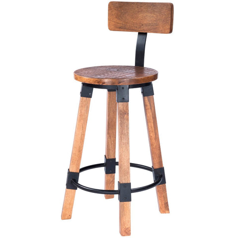 Butler Masterson Wood & Metal Counter Stool