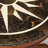Butler Mauricio Fossil Stone Foyer Table