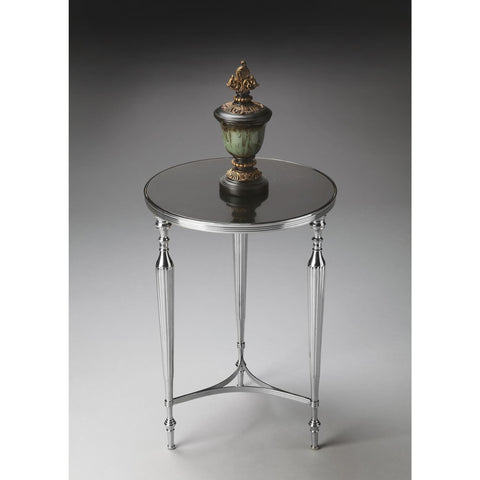 Butler Modern Expressions End Table In Nickel 2881220