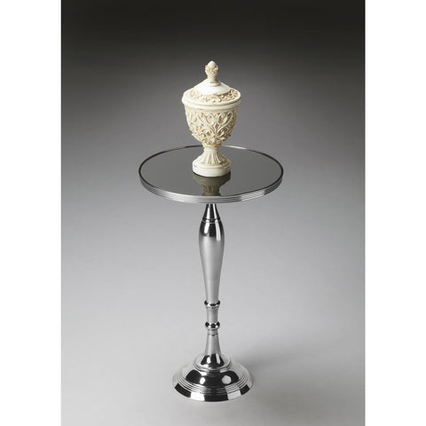 Butler Modern Expressions Pedestal Table In Nickel 2878220