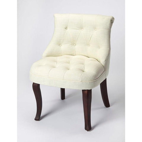 Butler Mona Linen Slipper Chair