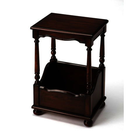 Butler Plantation Cherry Janssen Plantation Cherry Chairside Table