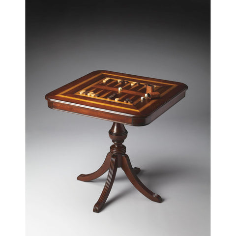 Butler Plantation Cherry Morphy Game Table In Cherry