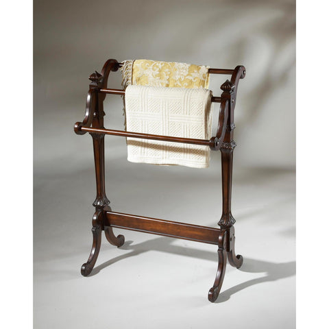 Butler Plantation Cherry Newhouse Blanket Stand
