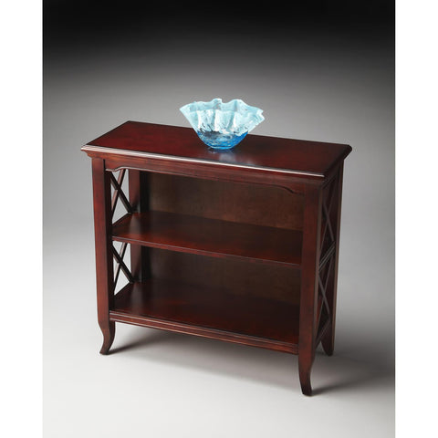 Butler Plantation Cherry Newport Low Bookcase