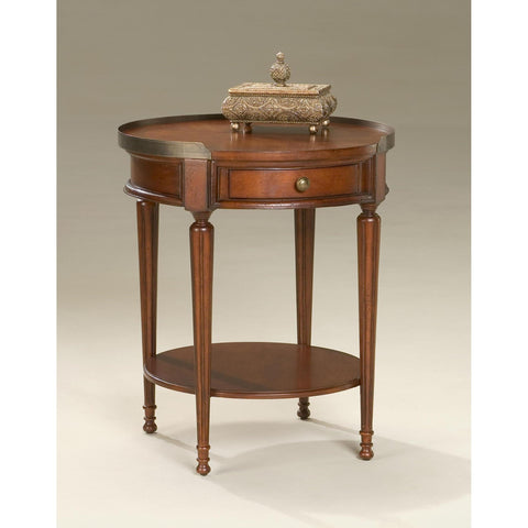 Butler Plantation Cherry Sampson Accent Table In Cherry