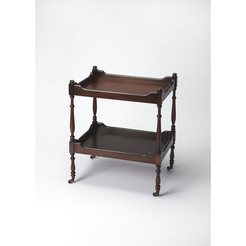 Butler Plantation Cherry Serving Cart