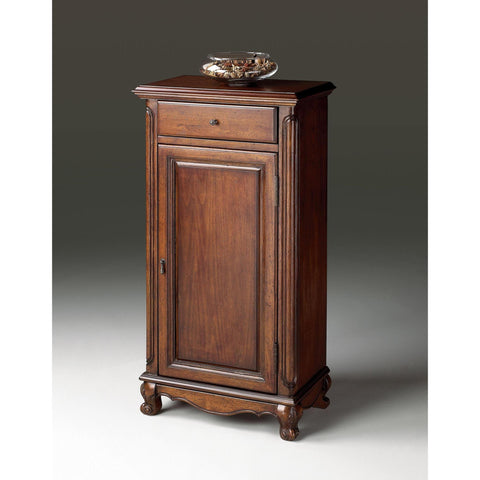 Butler Plantation Cherry Tall Door Chest