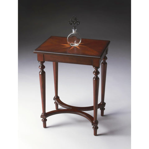 Butler Plantation Cherry Tyler Accent Table In Cherry