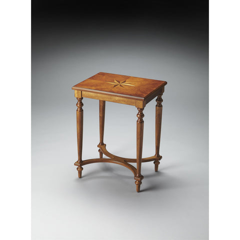Butler Plantation Cherry Tyler Accent Table In Olive Ash Burl
