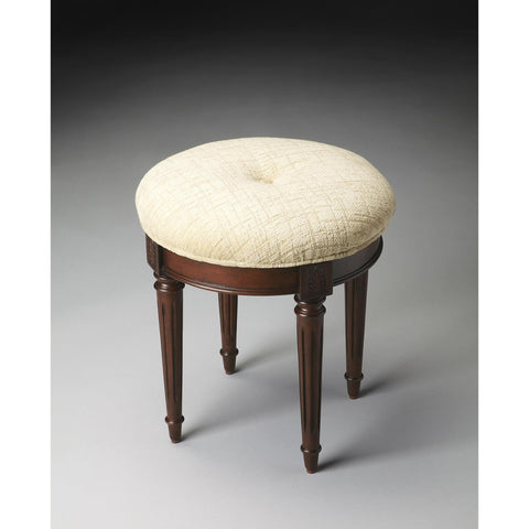 Butler Plantation Cherry Vanity Stool 1250024
