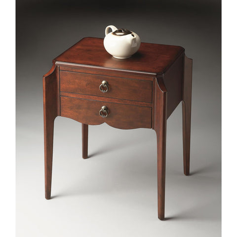 Butler Plantation Cherry Wilshire Accent Table