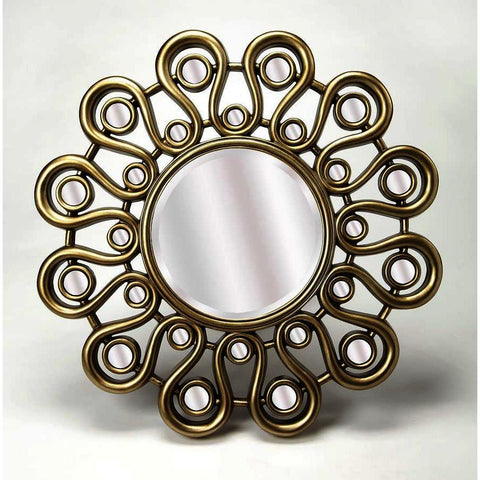 Butler Reflections Svetlana Silver Wall Mirror