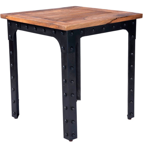 Butler River Wood & Metal Dining Table