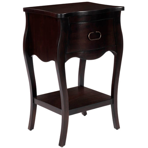 Butler Rochelle Dark Brown Night Stand