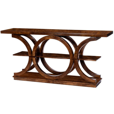 Butler Stowe Brown Rustic Console Table