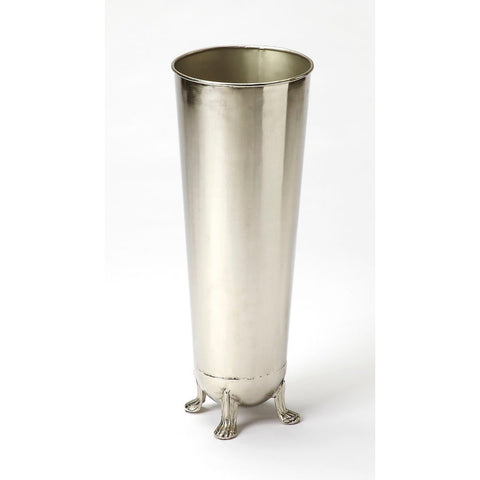 Butler Tanguay Polished Silver Umbrella Stand
