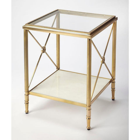 Butler Taren Gold End Table