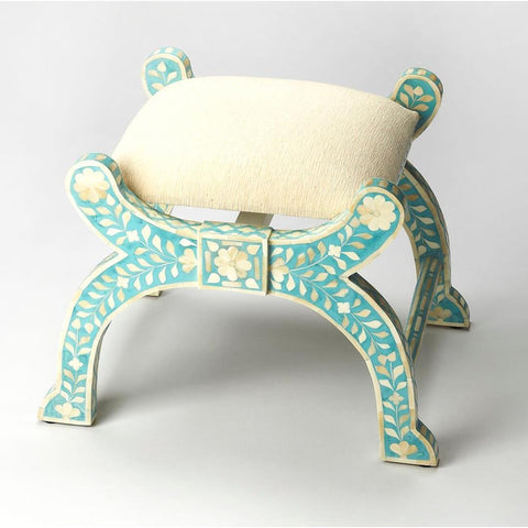 Butler Vivienne Jade Bone Inlay Stool