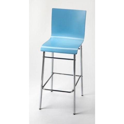 Butler Watney Blue Bar Stool