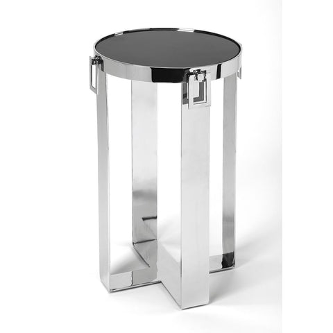 Butler Westwood Stone & Metal Accent Table