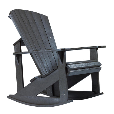 C.R. Plastics Addy Rocker In Black