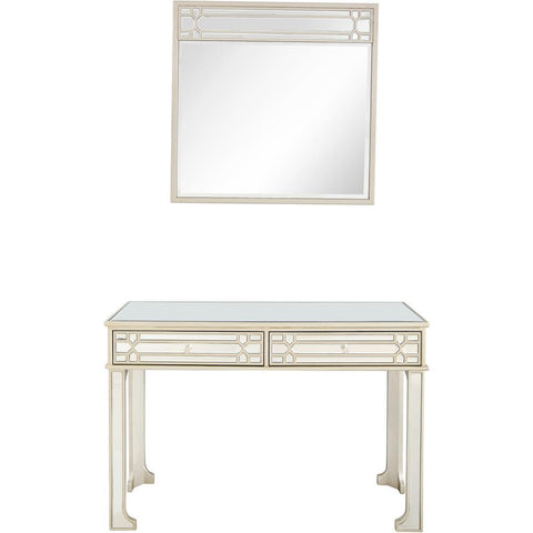 Camden Isle Aubrey Wall Mirror and Console