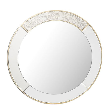 Camden Isle Brooks Round Mirror