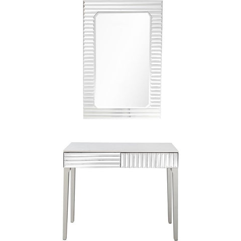 Camden Isle Carla Wall Mirror and Console