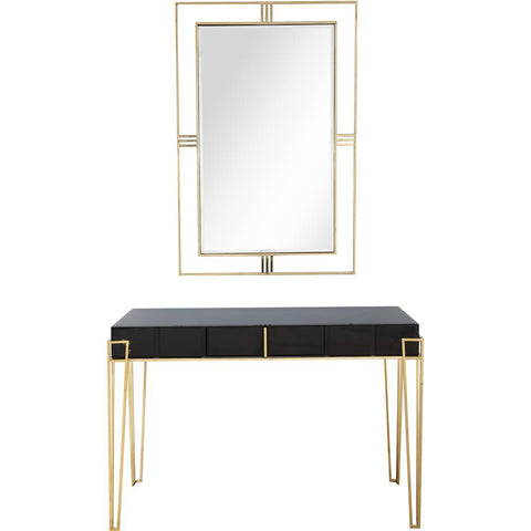 Camden Isle Daria Wall Mirror and Console