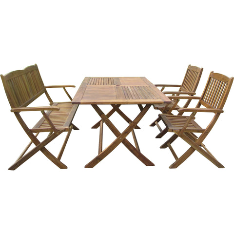 Camden Isle Devlin Folding Patio Dining Set