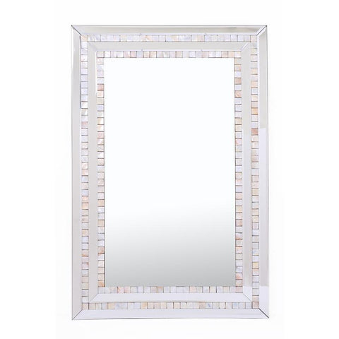 Camden Isle Double Mosaic Tiled Frame Mirror