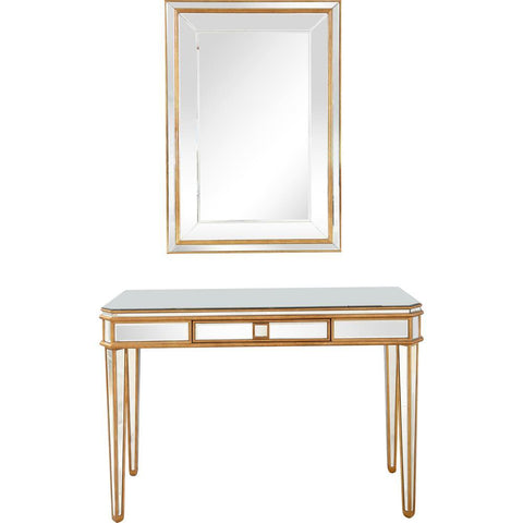 Camden Isle Finley Wall Mirror and Console