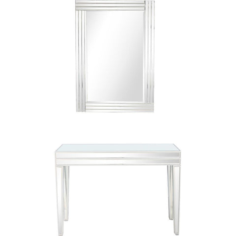 Camden Isle Holly Wall Mirror and Console