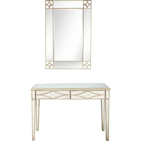 Camden Isle Huxley Wall Mirror and Console