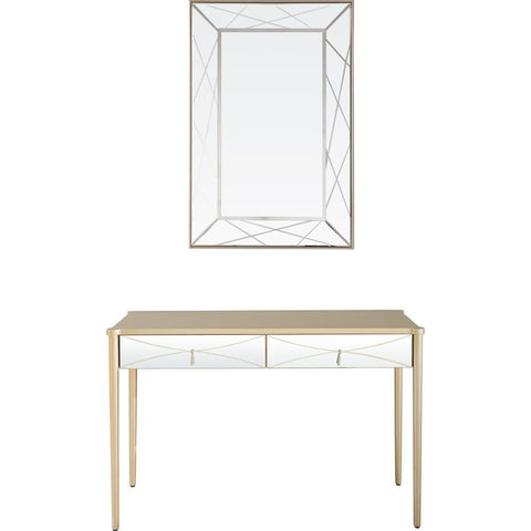 Camden Isle Insley Wall Mirror and Console