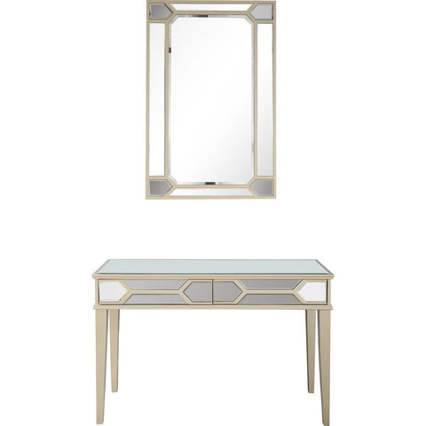Camden Isle Keeley Wall Mirror and Console