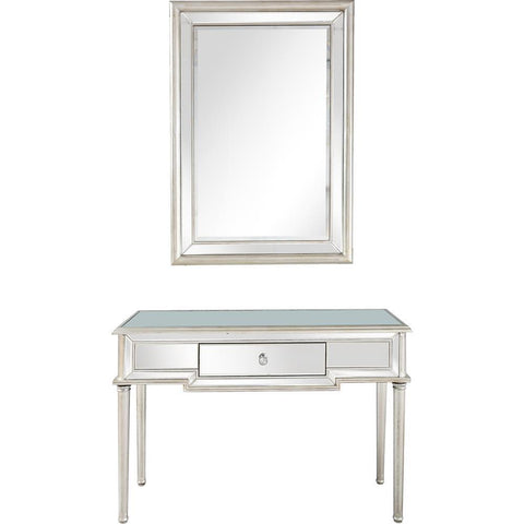 Camden Isle Morgan Wall Mirror and Console