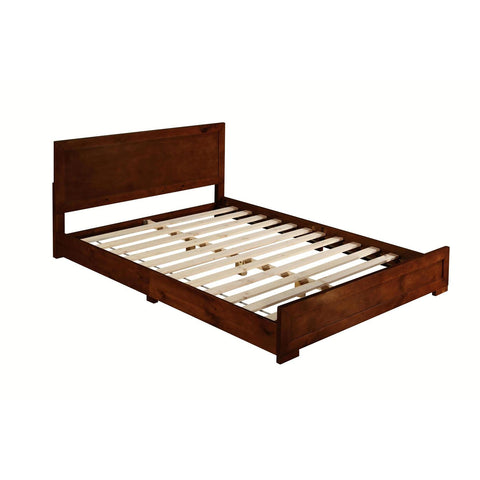Camden Isle Oxford Walnut Bed