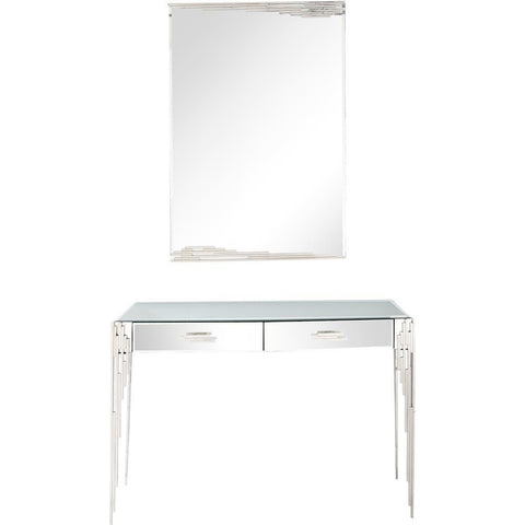 Camden Isle Skylar Wall Mirror and Console