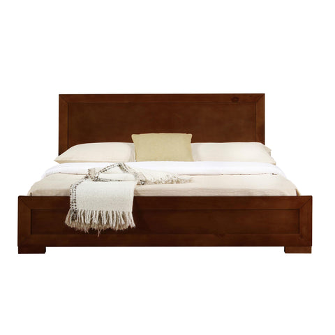 Camden Isle Trent Wooden Platform Bed in Walnut