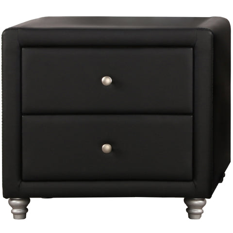 Camden Isle Upholstered 2 Drawer Nightstand