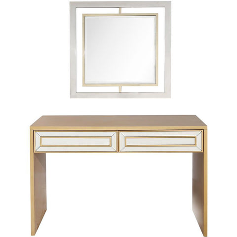 Camden Isle Virginia Wall Mirror and Console