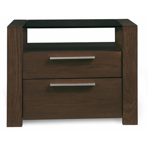 Casana Hudson 2 Drawer Night Stand