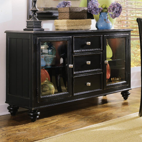 American Drew Camden-Dark China Buffet/Credenza