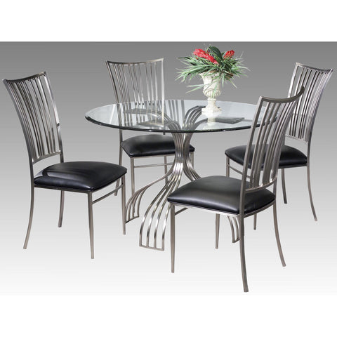Chintaly Ashtyn Collection 5 Piece Dining Set
