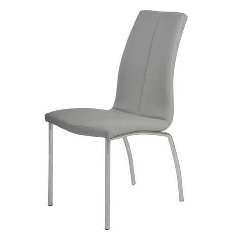 Chintaly Contemporary Curved-Back Side Chair -  set of 4
