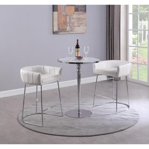 Chintaly Contemporary Pub Set with Counter Table & 2 Stools